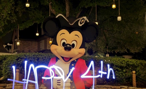 Happy 4th Of July From Mickey Mouse!