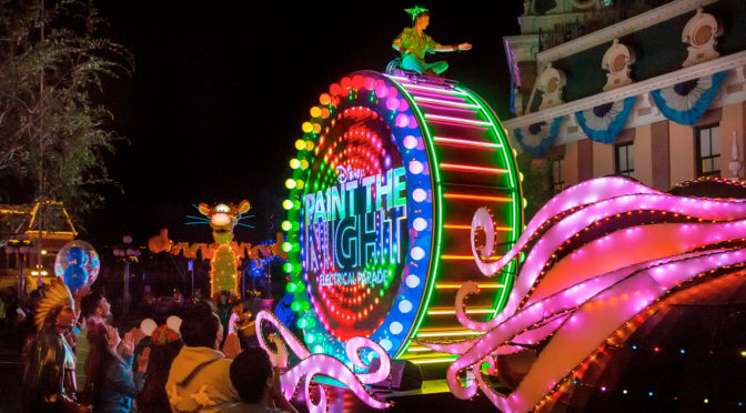 "Disney to Live Stream ""Paint the Night"" Parade from Disneyland Park Tonight!"